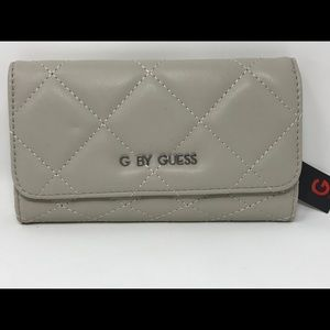 NWT G by guess trifold Quilted wallet